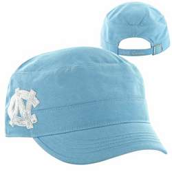 North Carolina Tar Heels Women's Sparkle Military Adjustable Hat