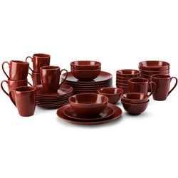Tierra Berry 40-Piece Dinnerware Set