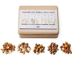 Around the World Spicy Nut Collection Gift Tin
