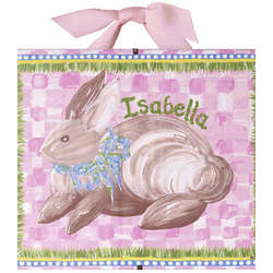 Personalized Bunny Name Print