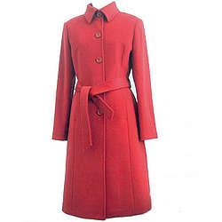 Women's Kneelength Cashmere Blend Overcoat
