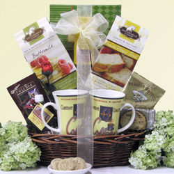 Breakfast for Two Wedding Anniversary Gift Basket