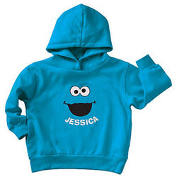 Personalized Sesame Street Cookie Monster Hoodie