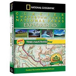 Glacier & Waterton Lakes National Parks Explorer 3D Software