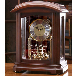 Personalized Nordale Mantel Clock