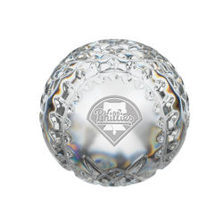Waterford Philadelphia Phillies Crystal Baseball