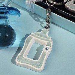 Cute Baby Bottle Keychain