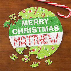 Personalized Merry Christmas Puzzle