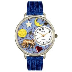 Personalized Royal Blue Taurus Watch