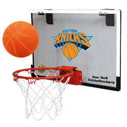 New York Knicks Game On Door Basketball Hoop