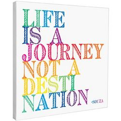 Life is a Journey Inspirational Wall Art