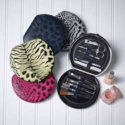 Animal Print Manicure and Makeup Kit