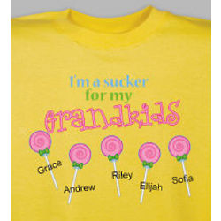 Personalized Sucker for my Kids T-Shirt