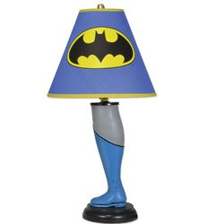 Batman Superhero Leg Lamp