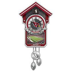 Arizona Cardinals Cuckoo Clock