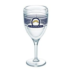 2 Los Angeles Chargers 9 Oz. Tervis Wine Glasses