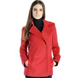 Women's Cashmere Pea Coat