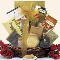 Forever Yours Anniversary Gift Basket