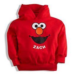 Personalized Sesame Street Elmo Hoodie