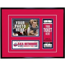 Minnesota Twins 'My First Game Ticket' Frame