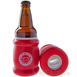 Cap-a-Cooz Bottle Opener and Koozie Combo