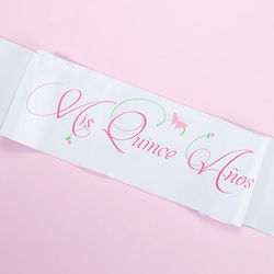 Mis Quince Anos Party Sash