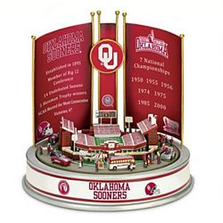 Oklahoma University Sooners Football Victory Carousel