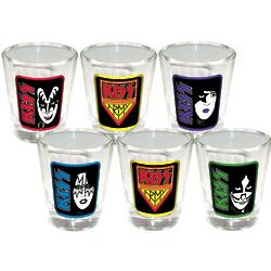 Kiss Shot Glasses