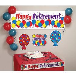 Happy Retirement Cubicle Decorating Kit