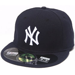 Men's Navy New York Yankees Fitted Cap