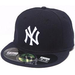 Men's Navy New York Yankees Fitted Cap