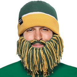 Green and Gold Barbarian Beard Head