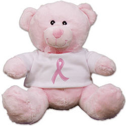 Breast Cancer Pink Ribbon Teddy Bear