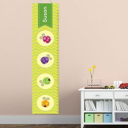 Lady Bug Personalized Growth Chart