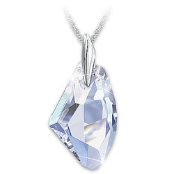 Facets of a Woman Swarovski Crystal Pendant