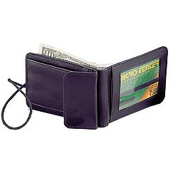 Leather ID Security Holder/Wallet