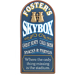 Personalized Skybox Plaque