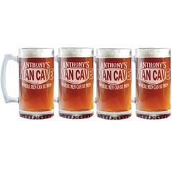 Personalized Man Cave Mug Set