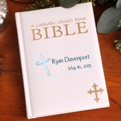 Personalized God Bless Child's First Bible