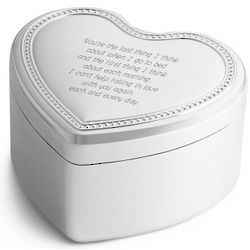 Stand By Me Heart Music Box