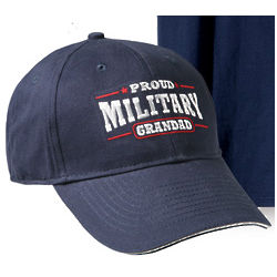 Proud Military Granddad Hat