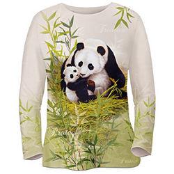 Women's Mother's Love Panda Art Shirt