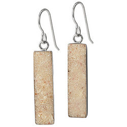 Custom Beach Sand Earrings