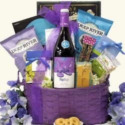 Flip Flop Pinot Noir Wine Gift Basket