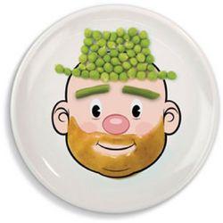 Mr. Food Face Dinner Plate