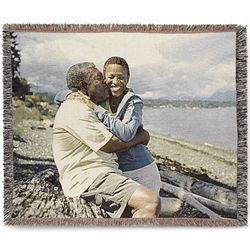Landscape Custom Photo Throw Blanket