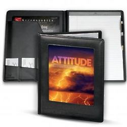 Attitude Lightning Motivational Padfolio