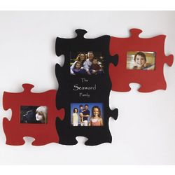 3-Piece Puzzle Personalized Photo Frame Set