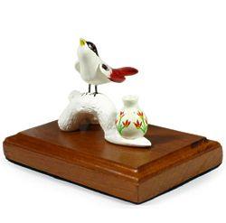 Cuban Trogon Song Ceramic Figurine
