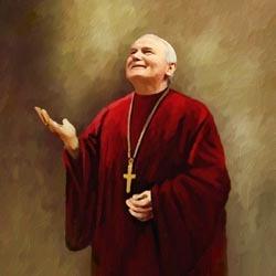 Pope John Paul II Limited Edition Fine Art Print